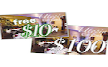 Buy $100 Gift Card Get $10 Card FREE! Expires 12-11-15